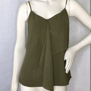 1.State olive green tank top